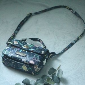 Floral and Blue Marc New York Purse